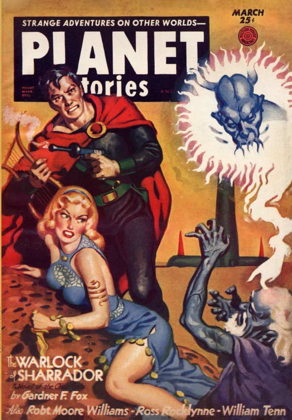 Planet Stories, March 1953