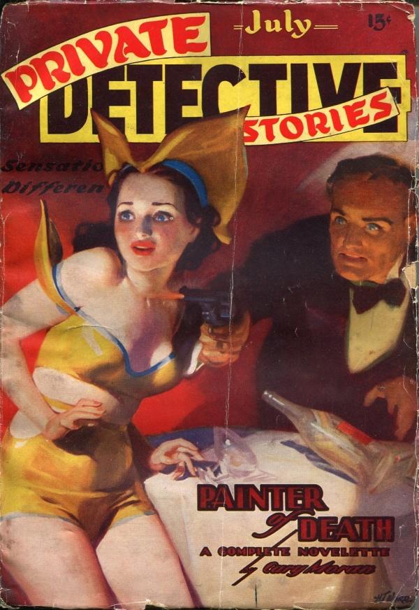 Private Detective Books July 1937