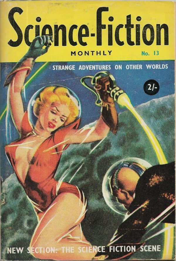 Science-Fiction Monthly #13 1956. Atlas Publications PTY, Ltd.(Australian)