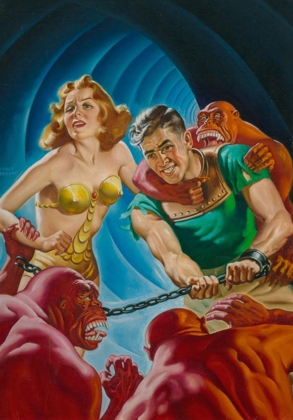 Startling Stories cover, Fall 1944