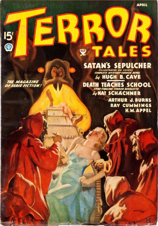 Terror Tales - April 1935