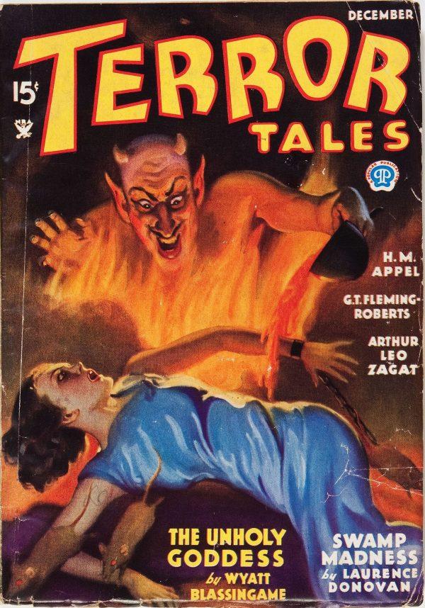 Terror Tales - December 1934