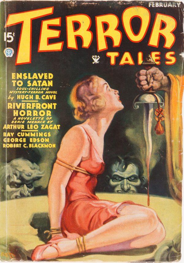 Terror Tales - February 1935