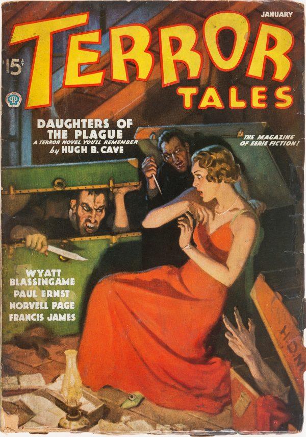 Terror Tales - January 1936
