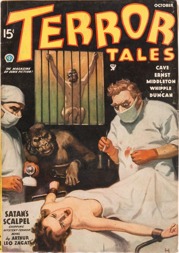Terror Tales - October 1935