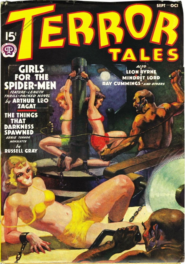 Terror Tales September-October 1938