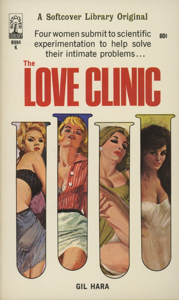 The Love Clinic by Gil Hara, Beacon Books, 1966