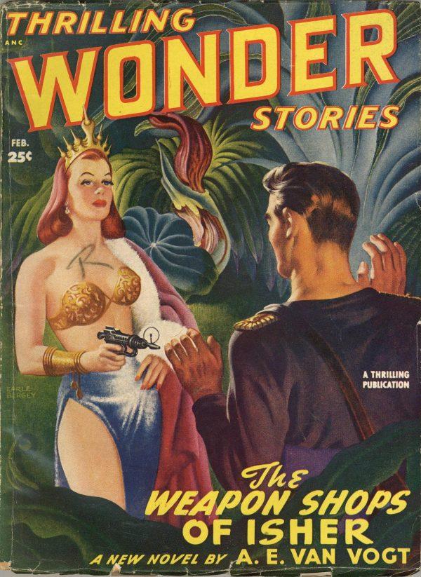 Thrilling Wonder Stories February 1949