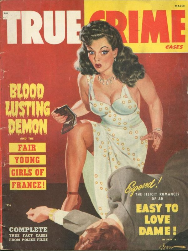 True Crime Cases March 1949