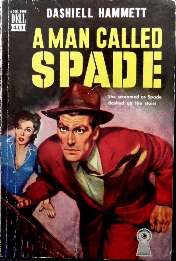 Dell 411 (1950).  Cover Art by Robert Stanley