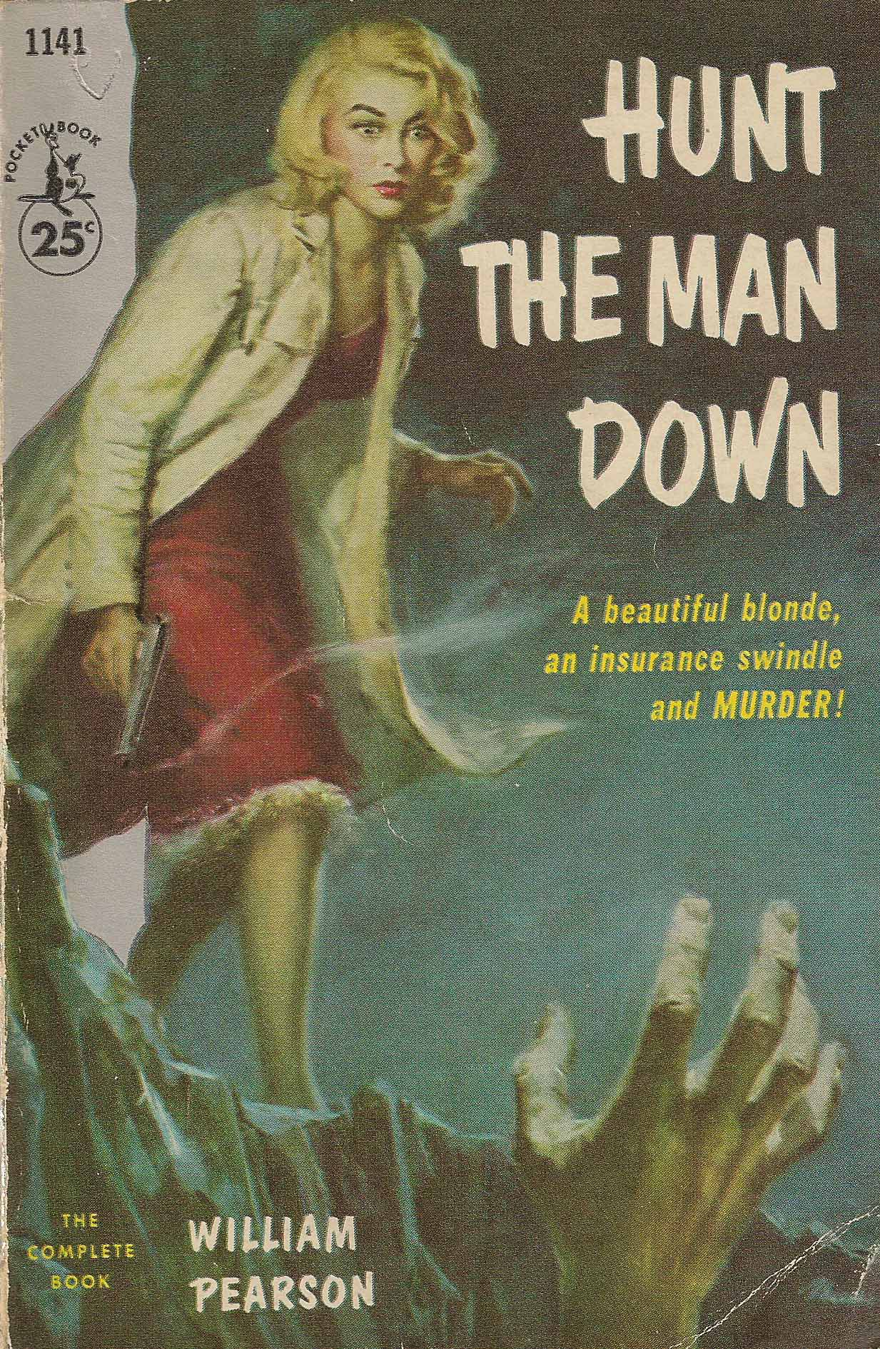 Image result for hunt the man down pulp cover