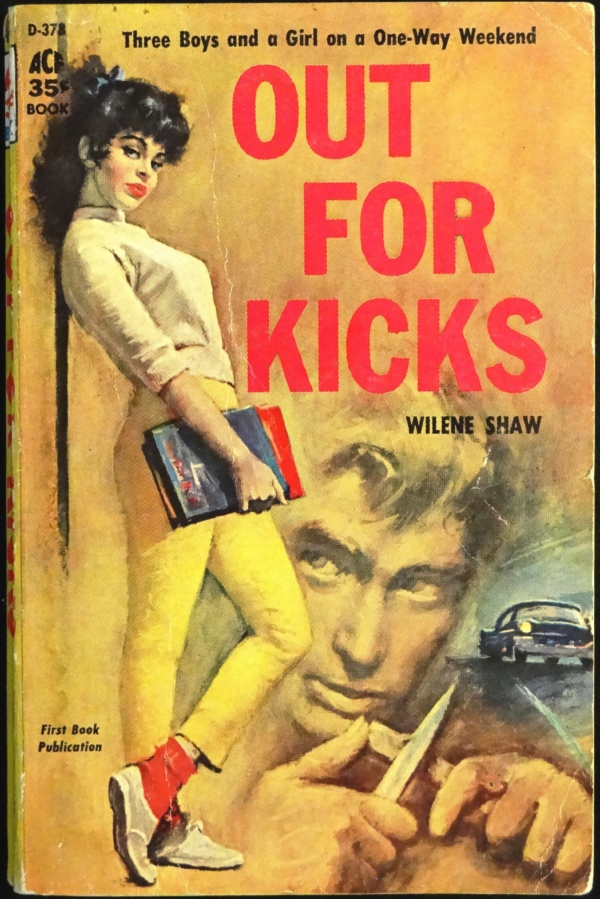 Ace D-378 Paperback Original (1959). Cover Art by George Ziel