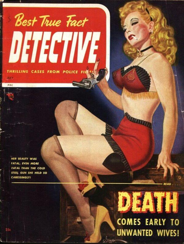 Best True Fact Detective Magazine July 1948