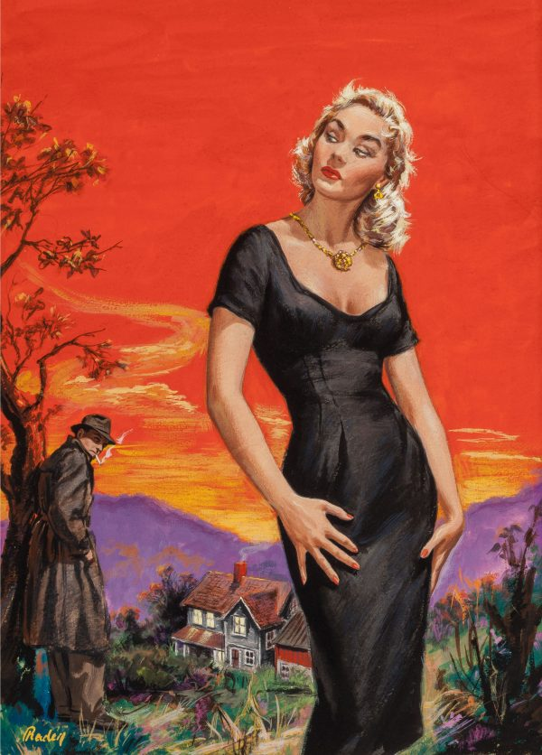 Evening Stroll, Open Season, paperback cover, 1960