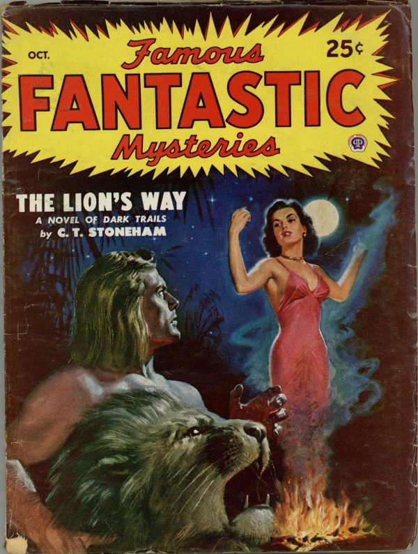 Famous Fantastic Mysteries Magazine October 1948