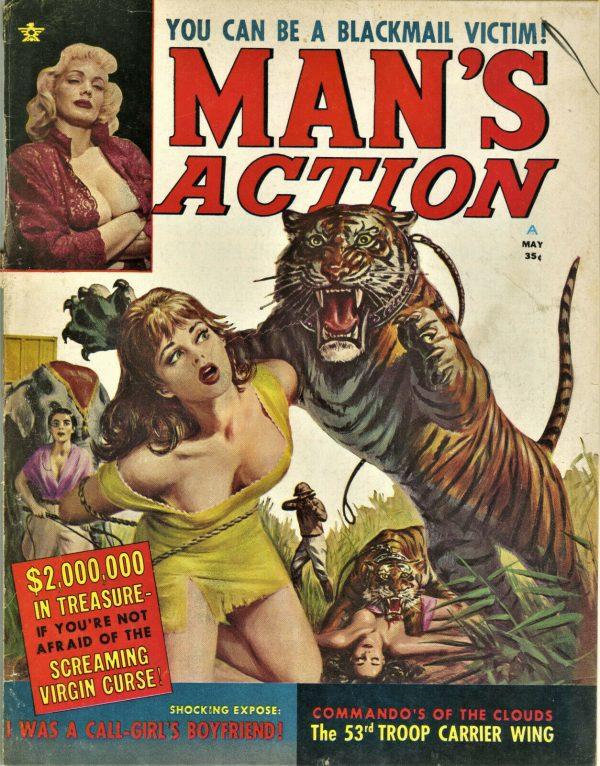 Man's Action Magazine May 1962