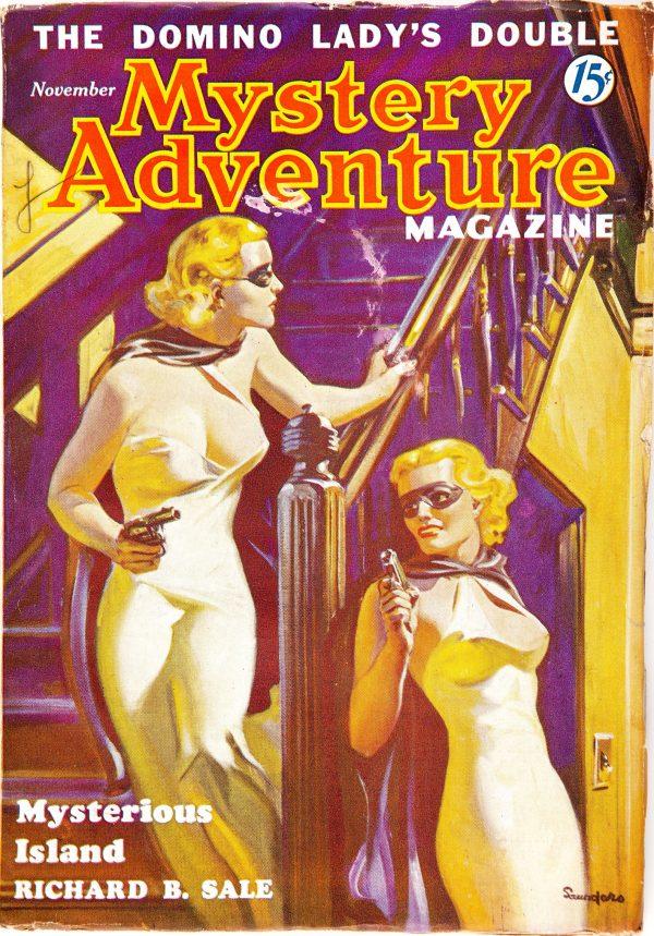 Mystery Adventures Magazine - November 1936
