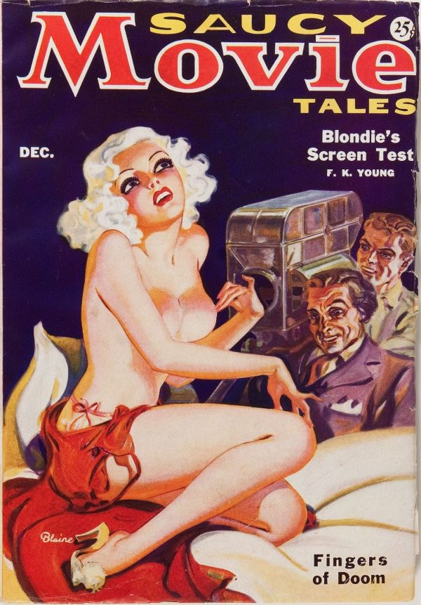 Saucy Movie Tales - December 1935