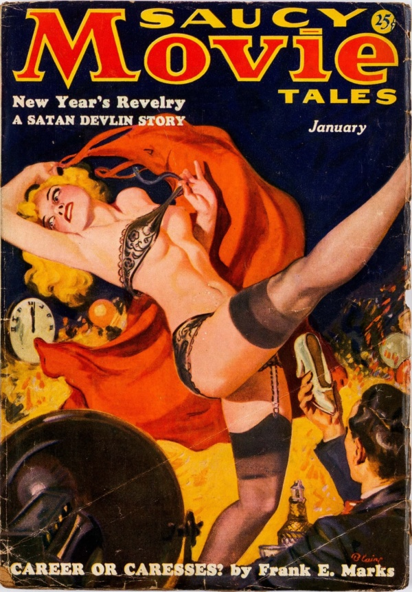 Saucy Movie Tales January 1937