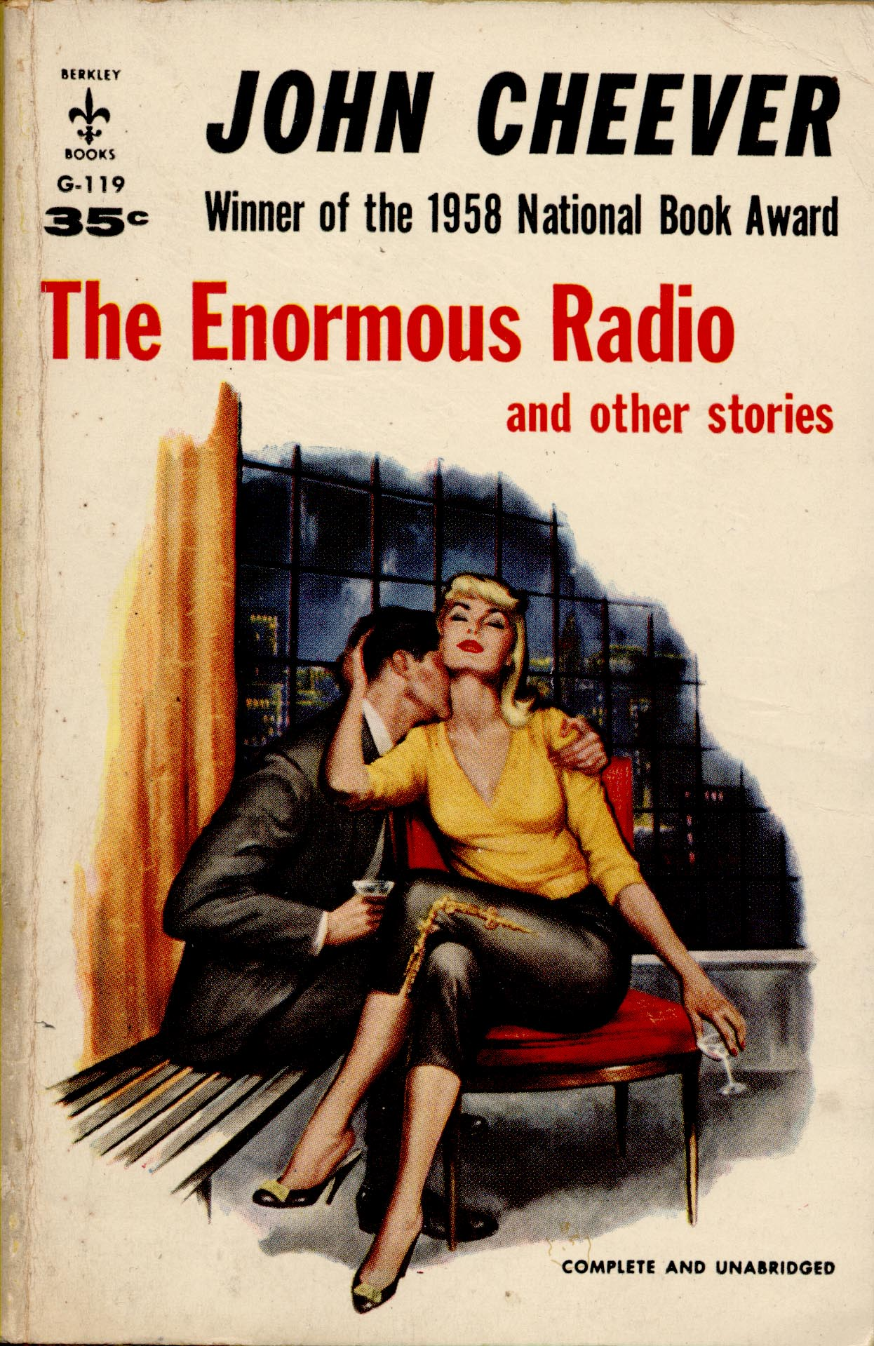 the enormous radio by john cheever When the stories of john cheever was originally published, it became an immediate national bestseller and won the pulitzer prize from the early wonder and disillusionment of city life in the enormous radio to the surprising discoveries and common mysteries of suburbia in the.