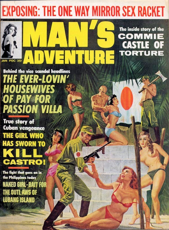 25971910-MAN'S_ADVENTURE_-_1965_01_January_-_cover_by_Vic_Prezio-8x6