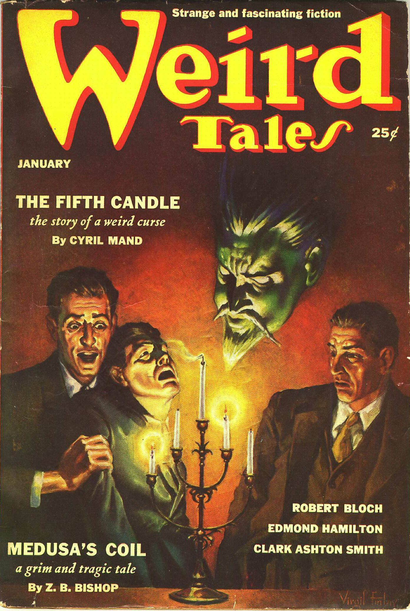 Weird Tales January 1939