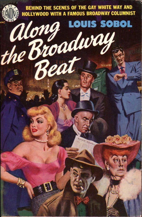 Along the Broadway Beat. Avon, 1951