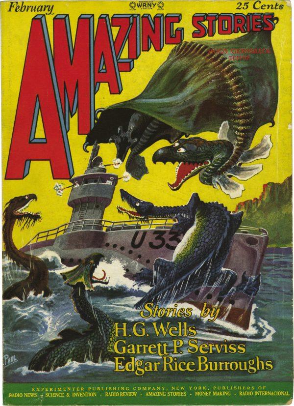 Amazing Stories, February 1927 V1#11