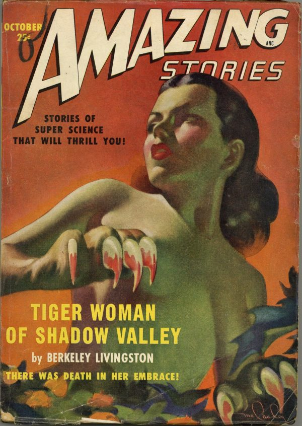 Amazing Stories October 1949