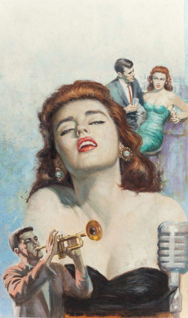 B-Girl, paperback cover, 1956