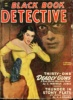 BLACK BOOK DETECTIVE. January 1949 thumbnail