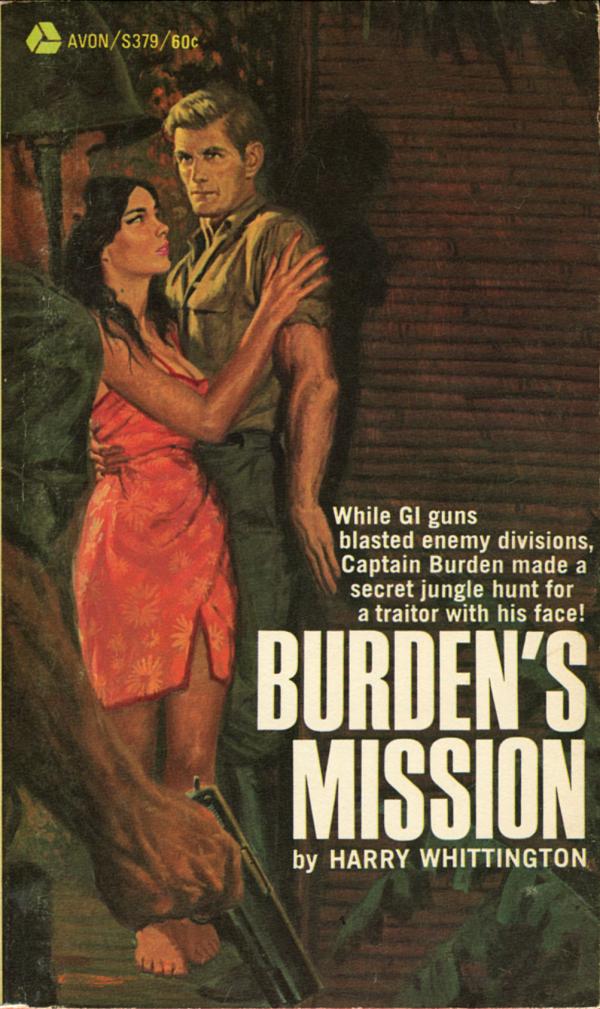 Burden's Mission. Avon, 1968