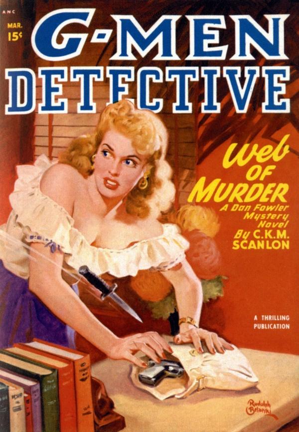 G-Men Detective - 1943-03