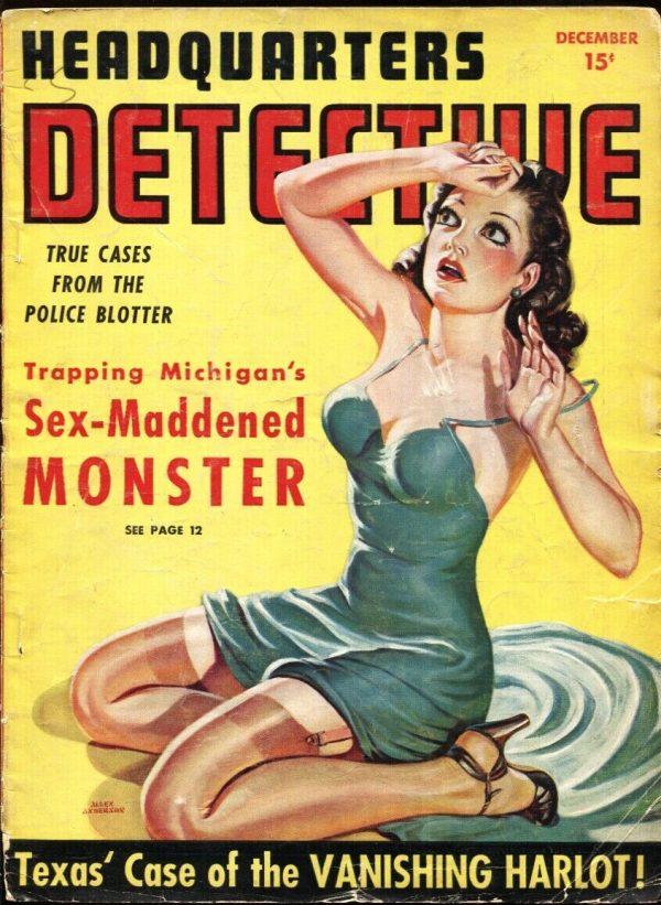 Headquarters Detective #4 December 1940