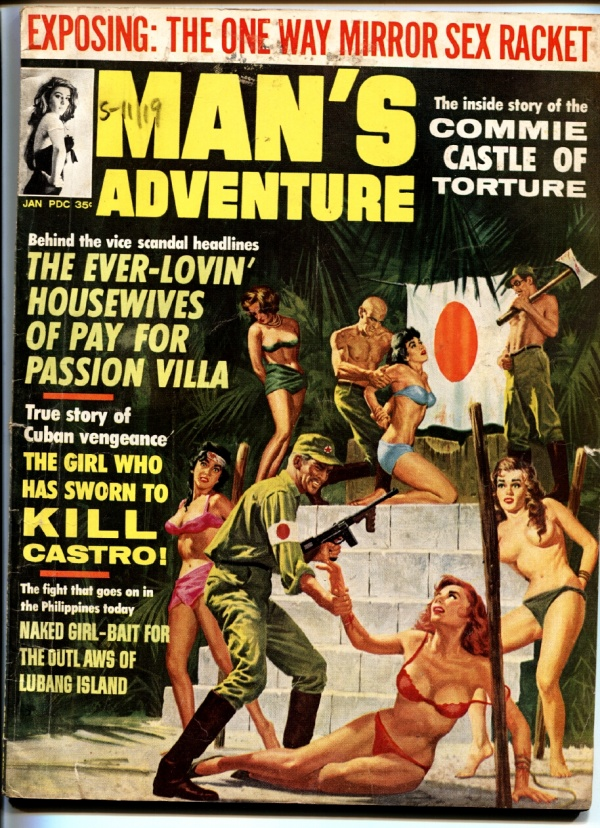 Man's Adventure January 1965