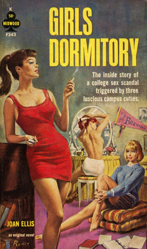Midwood Books F343 - Joan Ellis - Girls Dormitory