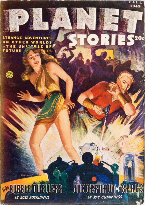 PLANET STORIES Fall 1945