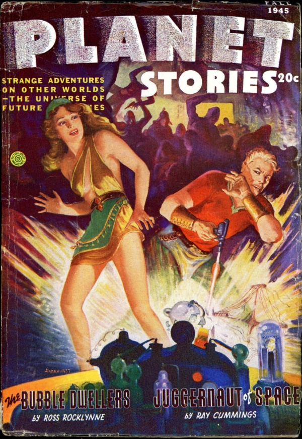 PLANET STORIES. Fall, 1945