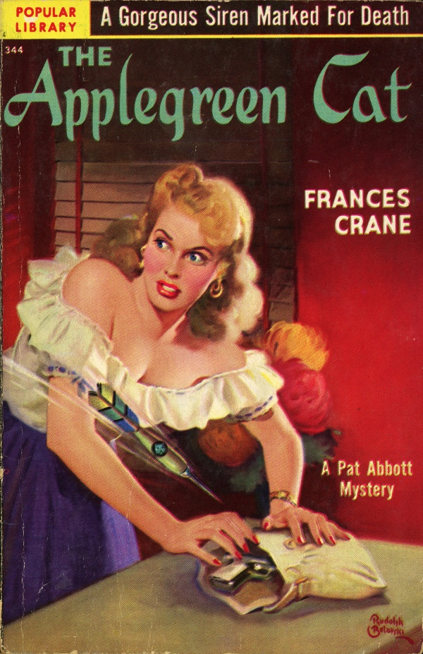 Popular Library 344 - Frances Crane - The Applegreen Cat