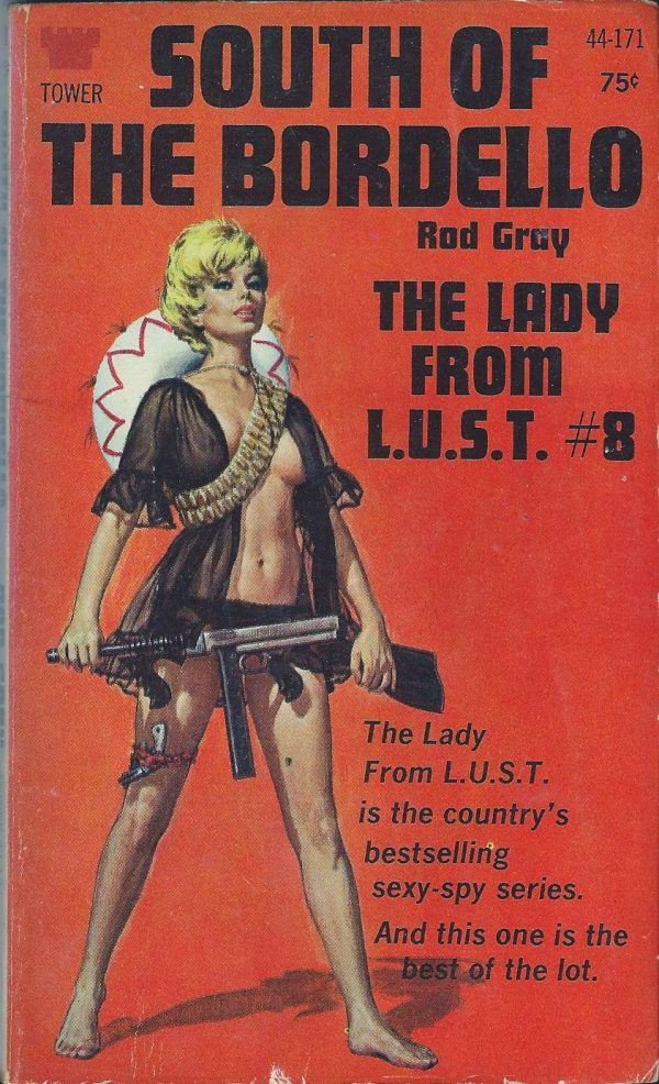 The Lady From L.U.S.T. #8 Tower 44-171 (1969)