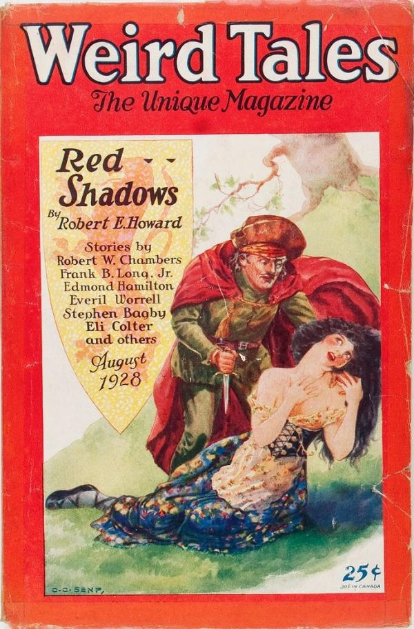 Weird Tales - August 1928