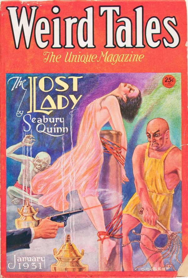 Weird Tales - January 1931
