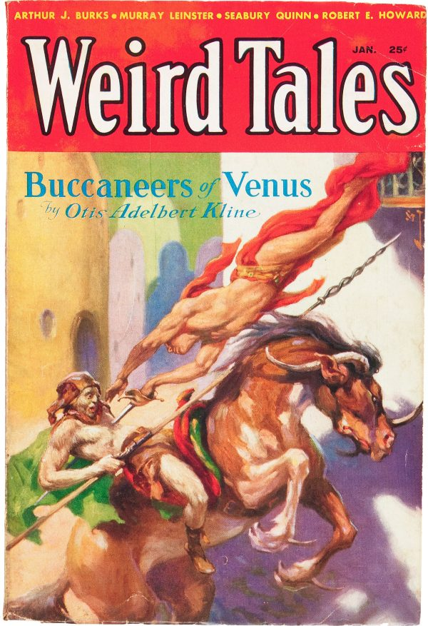 Weird Tales - January 1933