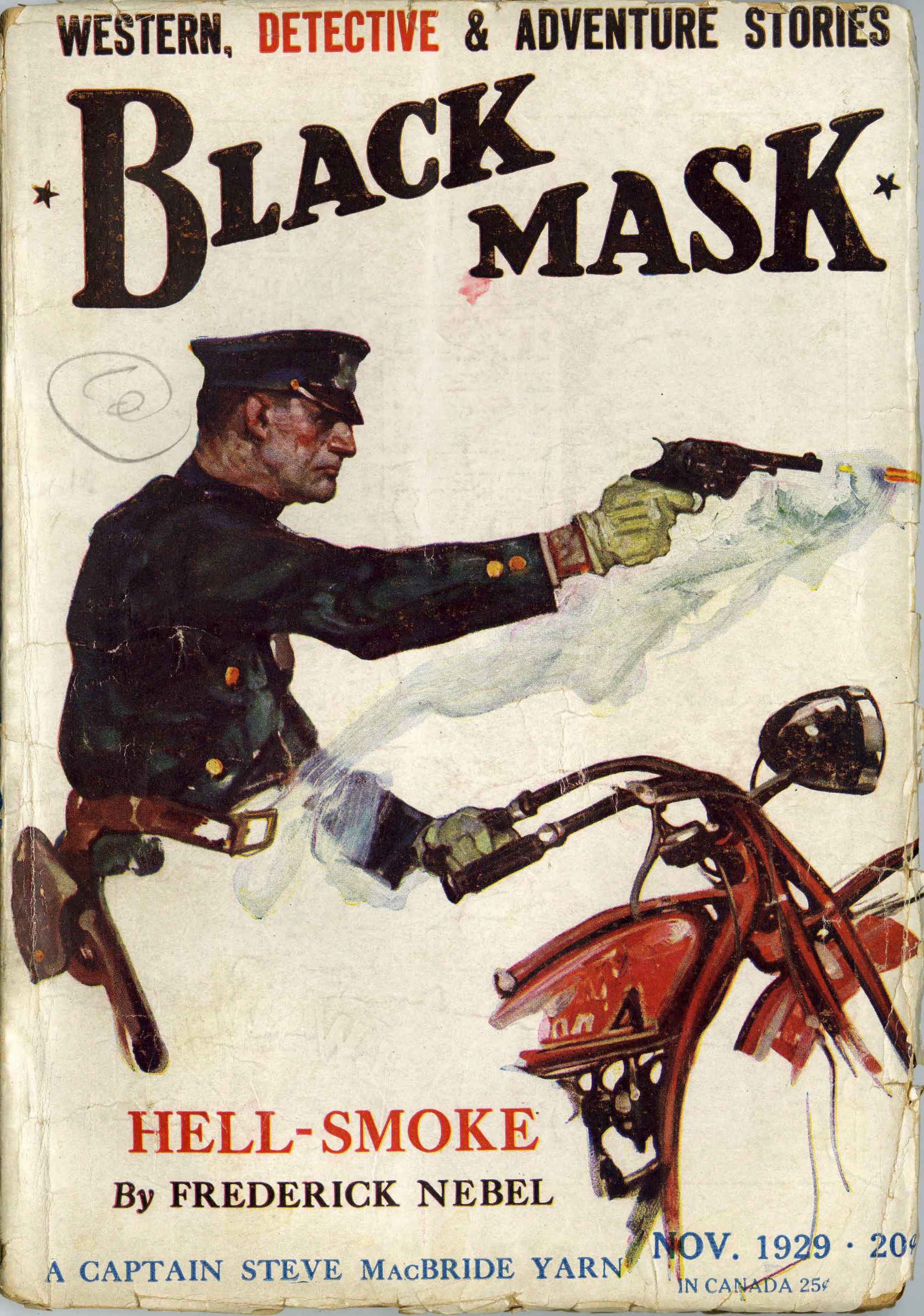 Hell-Smoke – Pulp Covers