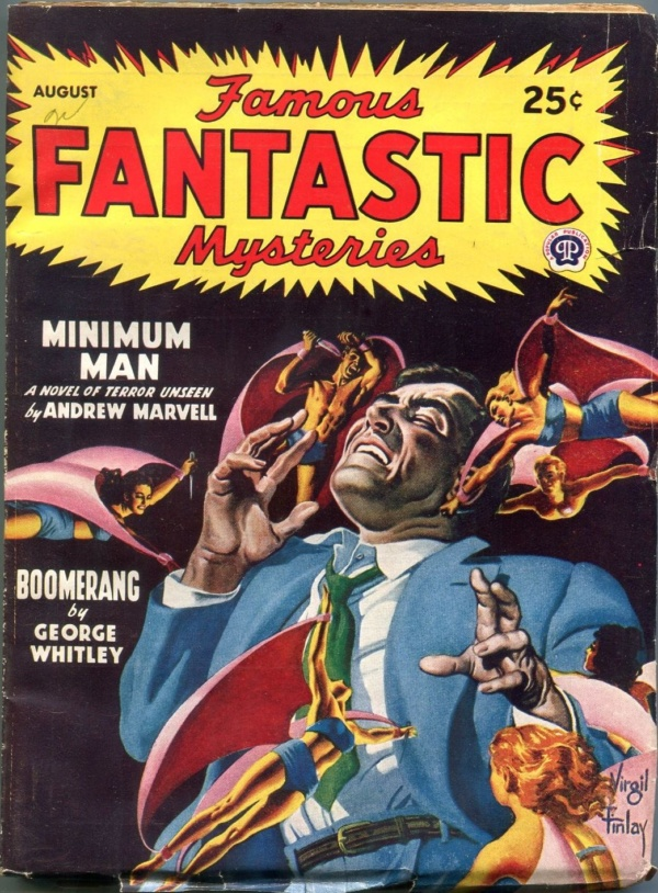 Famous Fantastic Mysteries August 1947