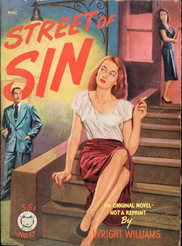 Street Of Sin - Croydon Books - No17 - Wright Williams - 1951