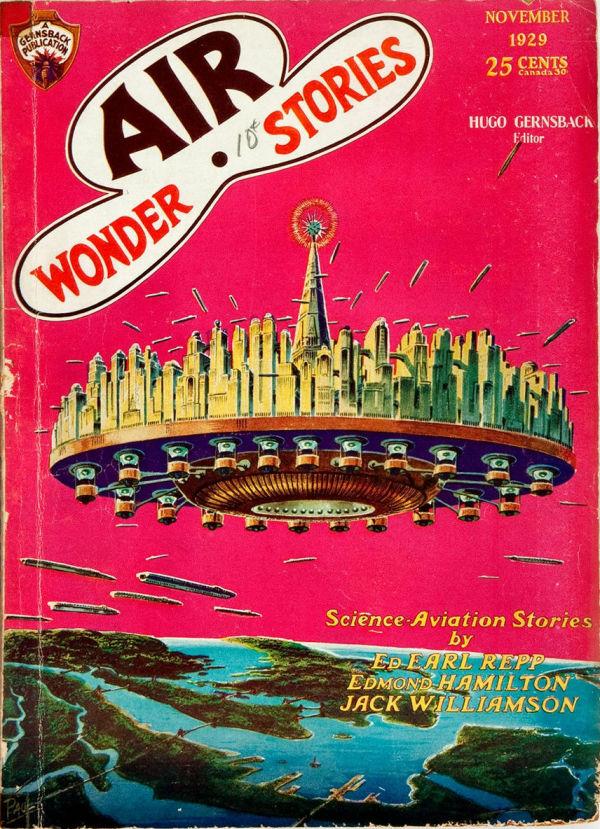 Air Wonder Stories, Vol. 1, No. 5. November 1929