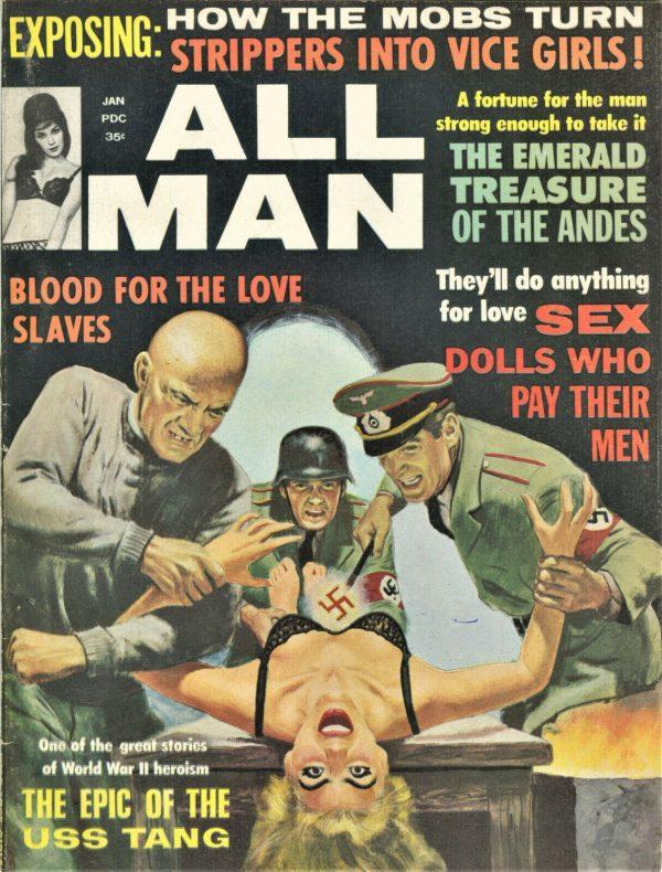 All Man Magazine January 1965