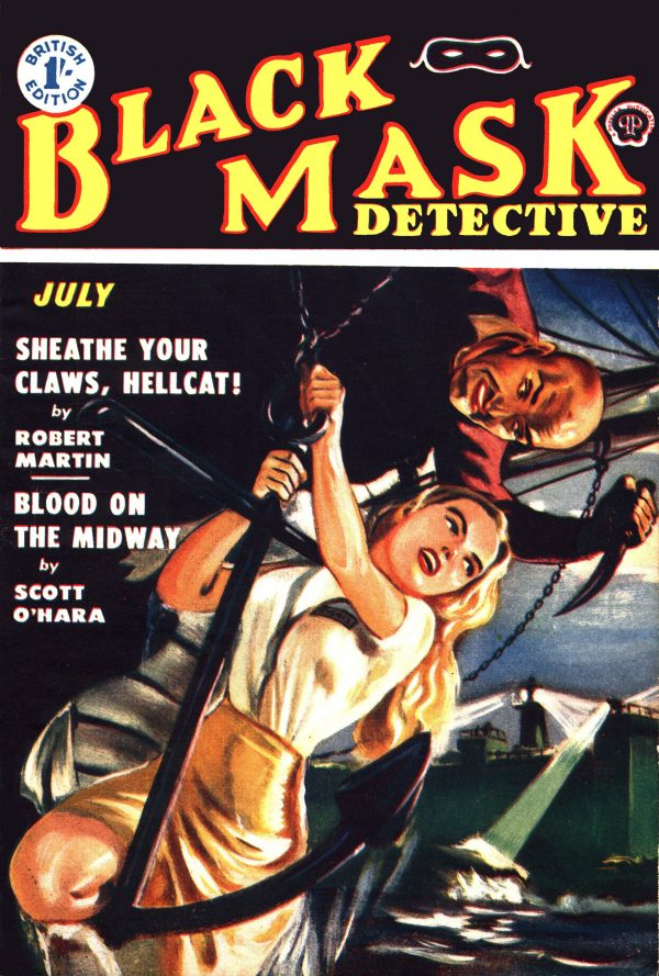 Black Mask UK July 1952