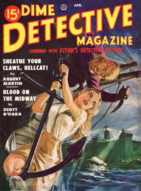 Dime Detective April 1950